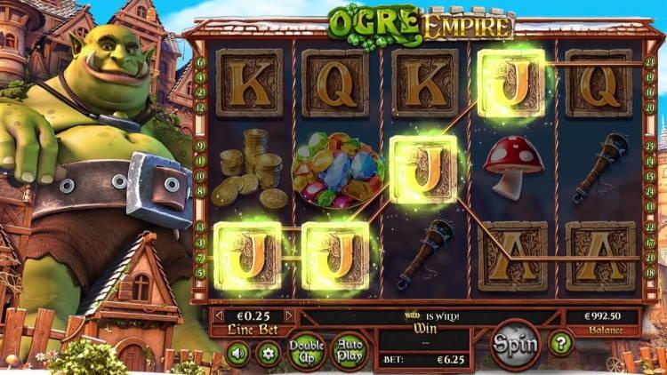 Ogre Empire Slot Machine